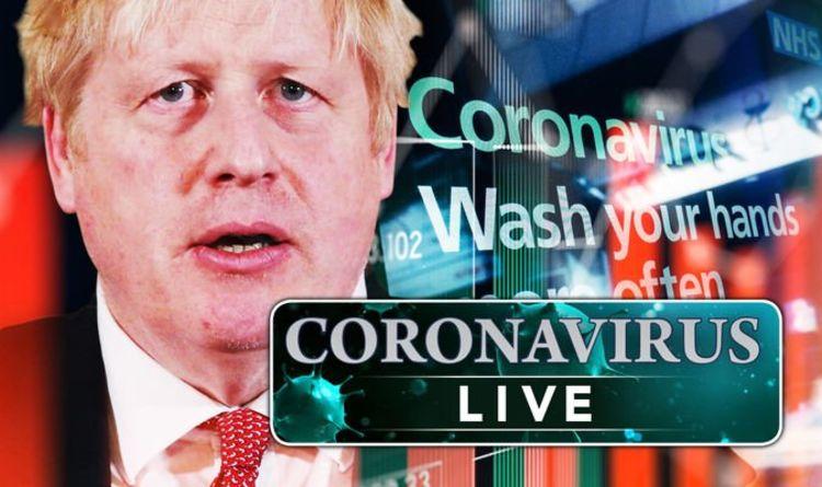 coronavirus map live  queen flees  cases soar and looting